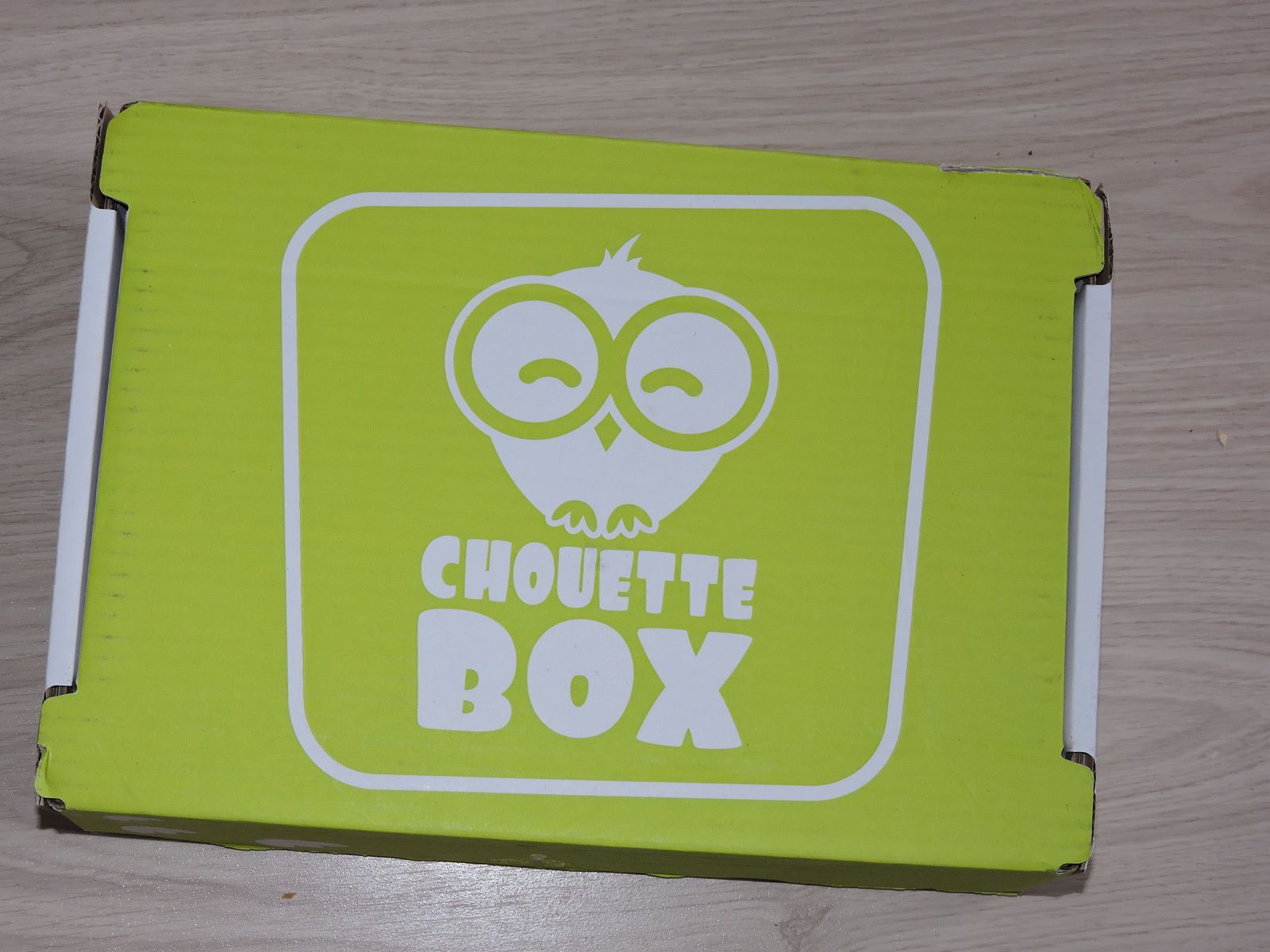 Chouette box octobre