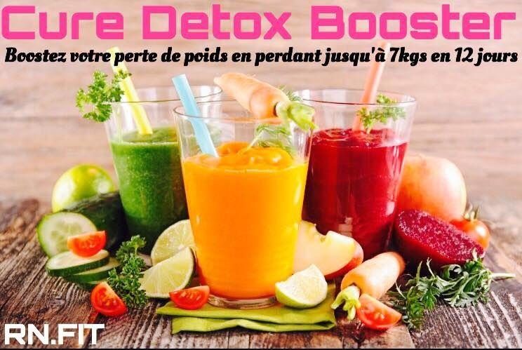 Cure Detox avec RN FITNESS