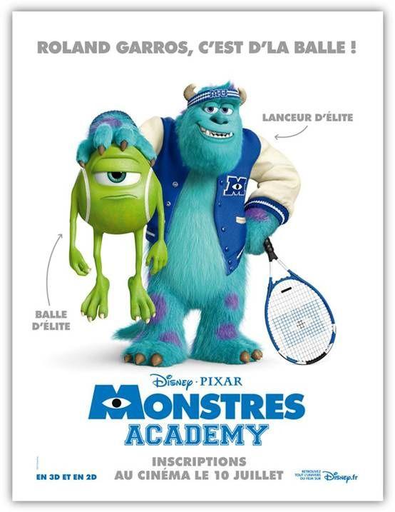 Monstres Academy : Bob et Sulli aussi sont amateurs de terre battue...