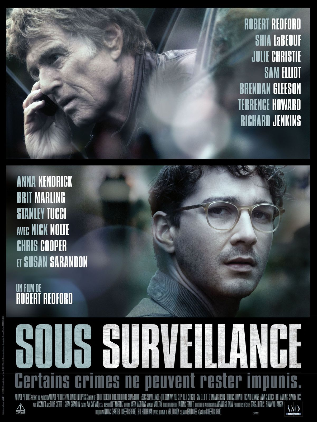 Sous Surveillance (Making-of VOST) de Robert Redford - 08 05 2013 (The Company You Keep)
