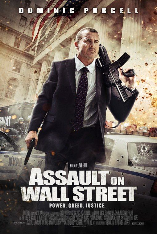 Bailout : The Age of Greed (Assault On Wall Street) (BANDE ANNONCE VO 2013) avec Dominic Purcell, Erin Karpluk, Edward Furlong