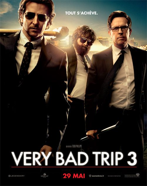 Very Bad Trip 3 (2013) (BANDE ANNONCE) avec Bradley Cooper, Zach Galifianakis, Heather Graham (The Hangover Part III)