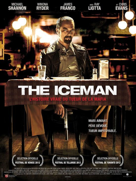 THE ICEMAN (2 EXTRAITS VF et VOST) avec Michael Shannon, James Franco, Chris Evans - 05 06 2013
