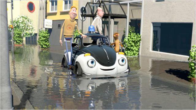 Ploddy - La voiture électrique mène l'enquête (Pelle Politibil går i vannet)