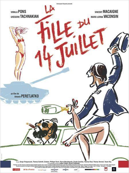 La fille du 14 juillet (BANDE ANNONCE) avec Vimala Pons, Grégoire Tachnakian, Vincent Macaigne - 05 06 2013