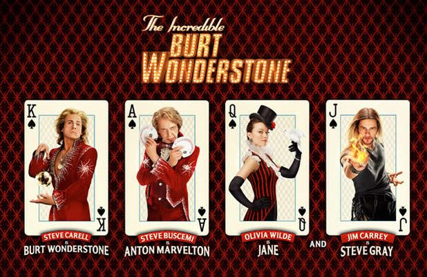 The Incredible Burt Wonderstone (BANDE ANNONCE VOST 2013) avec Steve Carell, Jim Carrey, Olivia Wilde