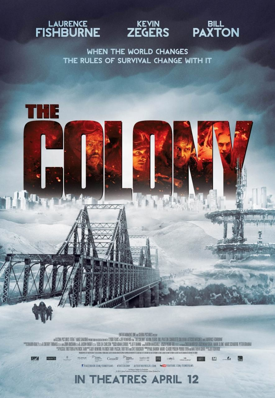 The Colony (BANDE ANNONCE VO 2013) avec Laurence Fishburne, Kevin Zegers, Bill Paxton