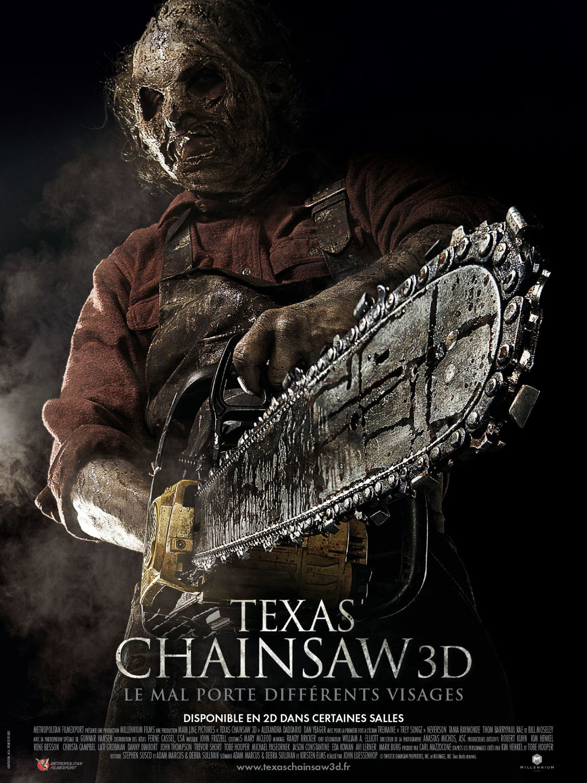 TEXAS CHAINSAW 3D (BANDE ANNONCE VF et VOST) 31 07 2013