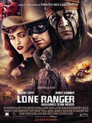 Lone Ranger Naissance d'un héros - Découvrez les affiches personnages !