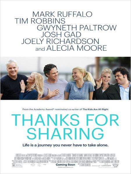 Thanks for Sharin (BANDE ANNONCE VO 2013) avec Gwyneth Paltrow, Mark Ruffalo, Tim Robbins