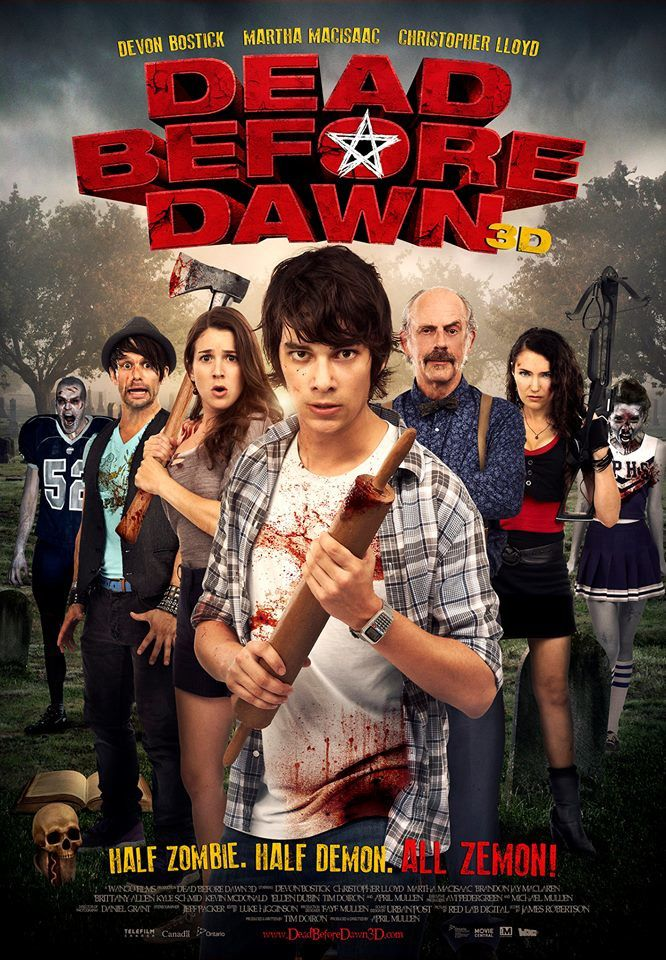Dead Before Dawn 3D  (BANDE ANNONCE VO 2012) avec Devon Bostick, Christopher Lloyd Kevin McDonald