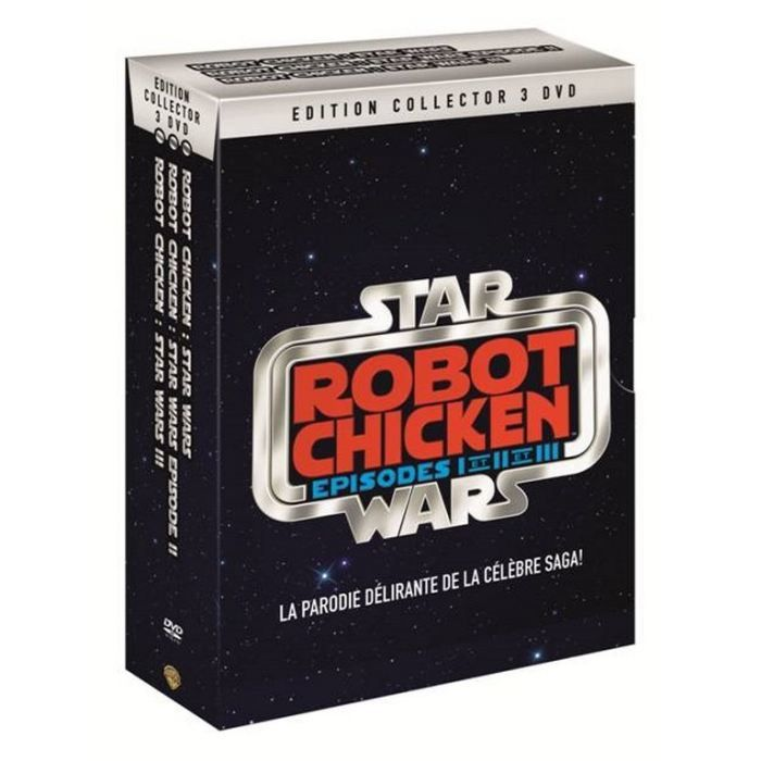 Robot Chicken Star Wars (BANDE ANNONCE) ACTUELLEMENT EN DVD