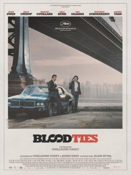 Blood Ties (Making-of Module New-York ) de Guillaume Canet - 30 10 2013