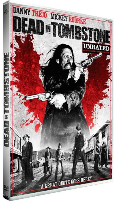 Dead in Tombstone (BANDE ANNONCE VO 2012) avec Danny Trejo, Anthony Michael Hall, Mickey Rourke