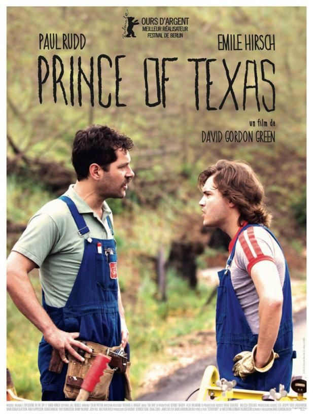 Prince of Texas (BANDE ANNONCE VO 2013) avec Paul Rudd, Emile Hirsch (Prince Avalanche)