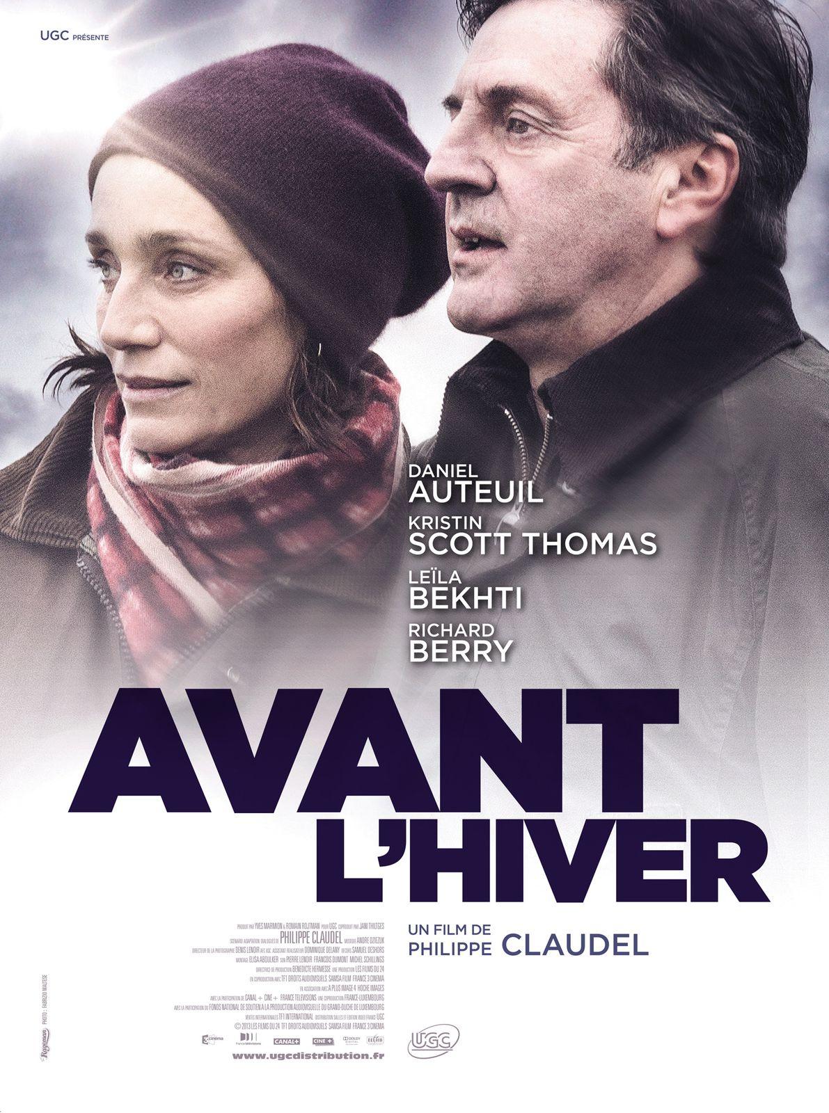AVANT L'HIVER (BANDE ANNONCE 2013) avec Daniel Auteuil, Kristin Scott Thomas