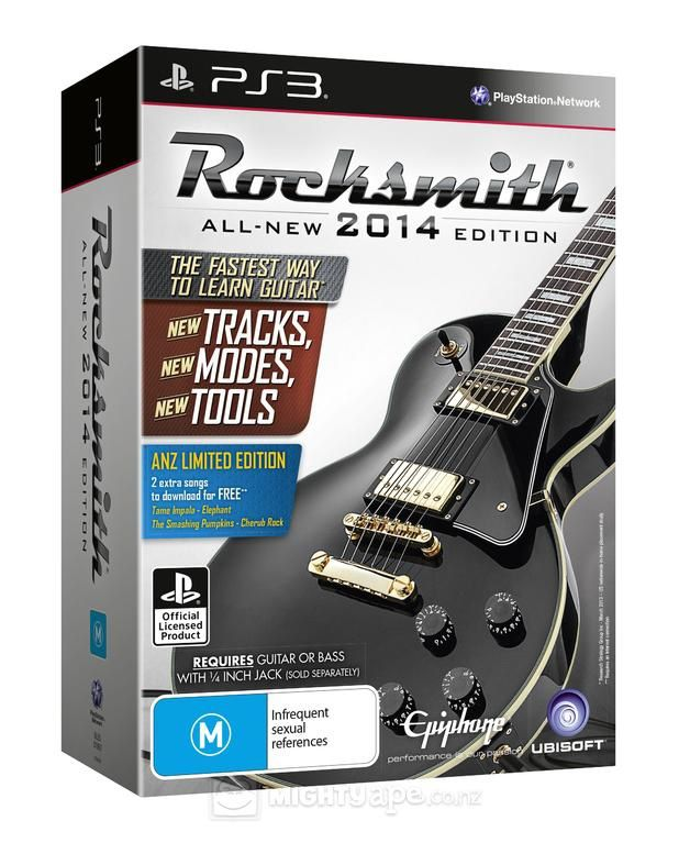 Rocksmith 2014 Edition (BANDE ANNONCE)