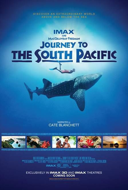 Journey to the South Pacific (BANDE ANNONCE VO 2013) Narration de Cate Blanchett