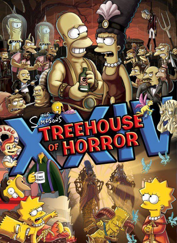 THE SIMPSONS (Générique de Guillermo del Toro) Treehouse of Horror XXIV