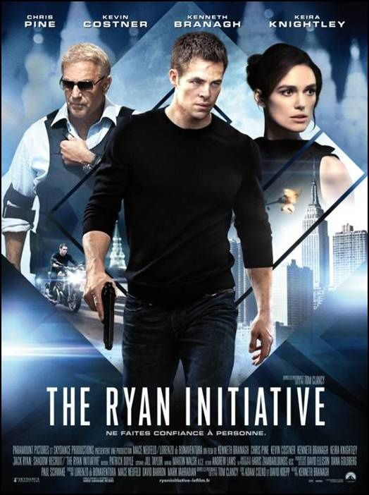 The Ryan Initiative (BANDE ANNONCE VOST) de Kenneth Branagh avec Chris Pine, Keira Knightley, Kevin Costner (Jack Ryan: Shadow Recruit)