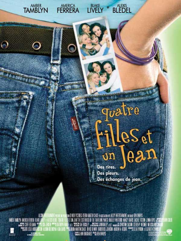 4 filles et un jean (2005) avec Amber Tamblyn, America Ferrera (The Sisterhood Of The Traveling Pants)