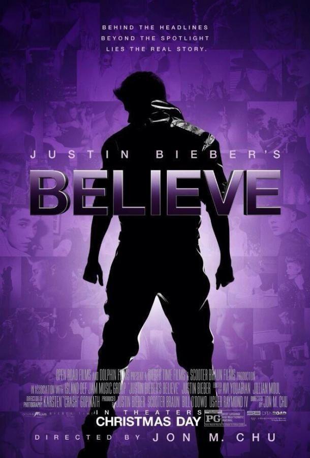 Justin Bieber's Believe (BANDE ANNONCE VOST 2013) avec Justin Bieber
