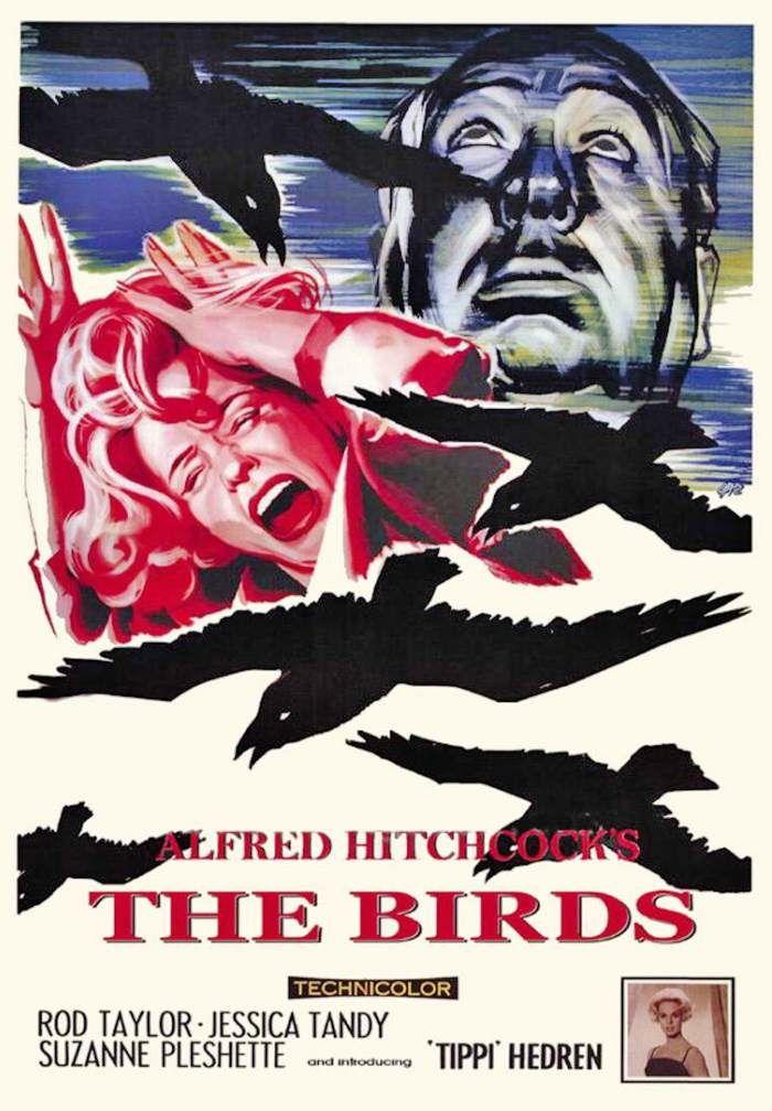 Les Oiseaux (BANDE ANNONCE VO 1963) de Alfred Hitchcock avec Rod Taylor, Tippi Hedren (The Birds)