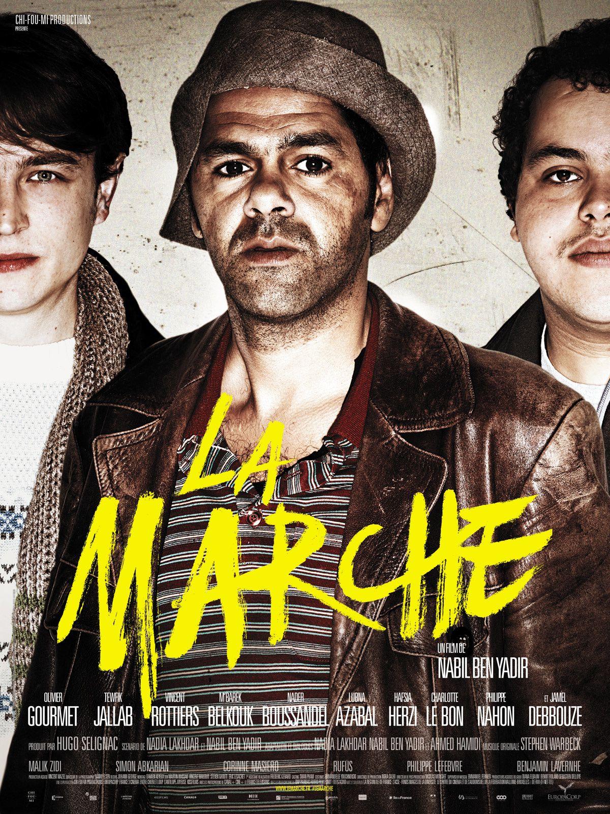 La marche (3 making-of) avec Jamel Debbouze, Charlotte Le Bon, Olivier Gourmet - 27 11 2013