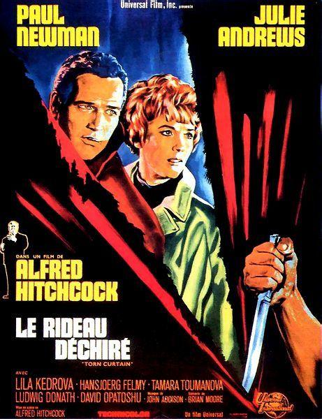 Le rideau déchiré (BANDE ANNONCE VO 1966) de Alfred Hitchcock avec Paul Newman, Julie Andrews (Torn Curtain)