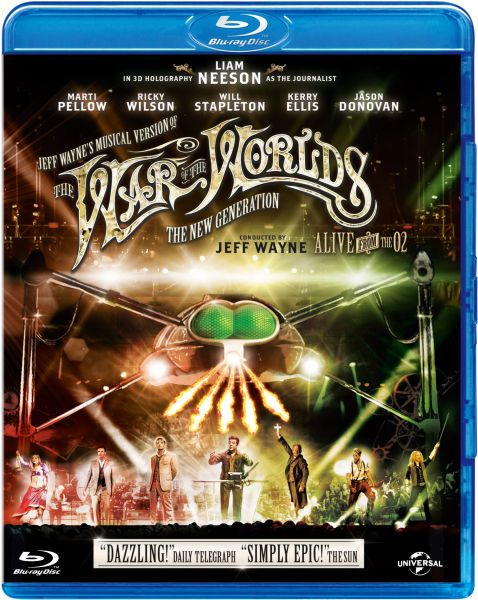 Jeff Wayne's The War of The Worlds (BANDE ANNONCE VO 2013) avec Liam Neeson, Ricky Wilson