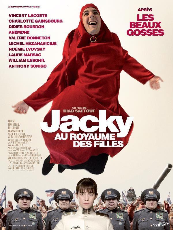 Jacky au royaume des filles (BANDE ANNONCE) avec Charlotte Gainsbourg, Vincent Lacoste