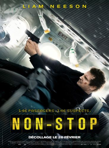 Non-Stop (3 MAKING-OF) avec Liam Neeson, Julianne Moore, Scoot McNairy - 26 02 2014