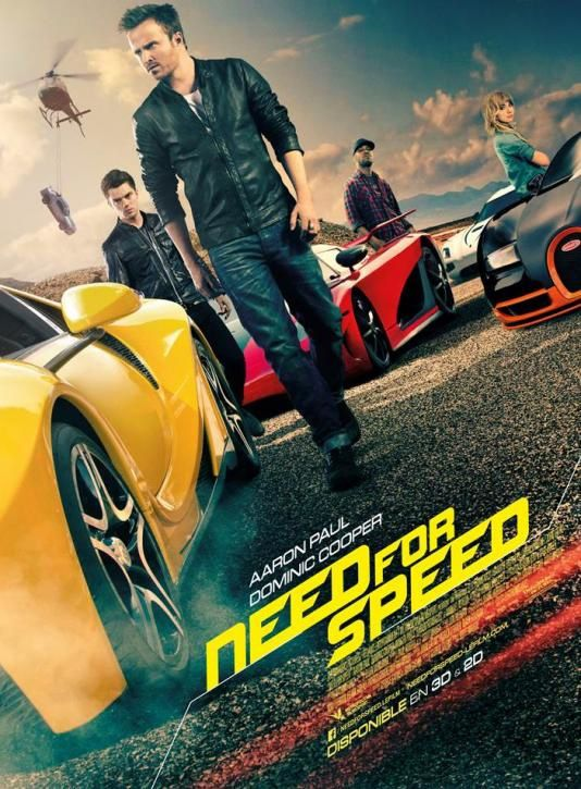 Need for Speed (Making-of : Courses Poursuites - VOST) Au cinéma le 16 avril 2014.