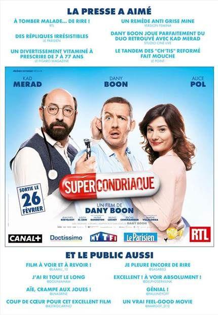 SUPERCONDRIAQUE réalise le meilleur démarrage d'un film français depuis 2011 !!