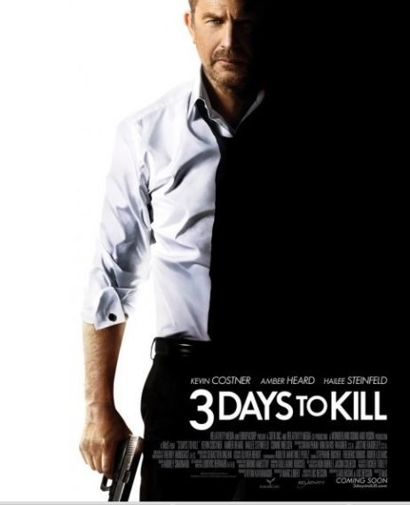 3 Days to Kill (BANDE ANNONCE VF et VOST) avec Kevin Costner, Connie Nielsen, Amber Heard - 19 03 2014