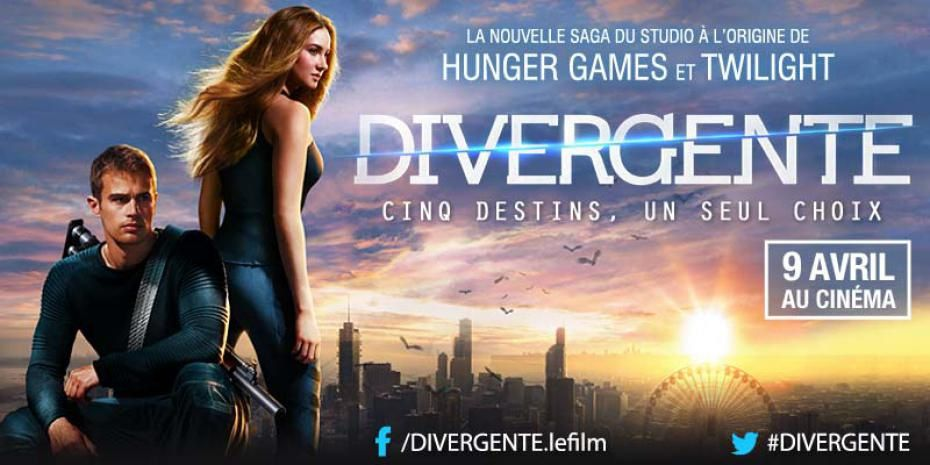 DIVERGENTE (MAKING-OF VOST) avec Shailene Woodley, Theo James, Kate Winslet - 09 04 2014