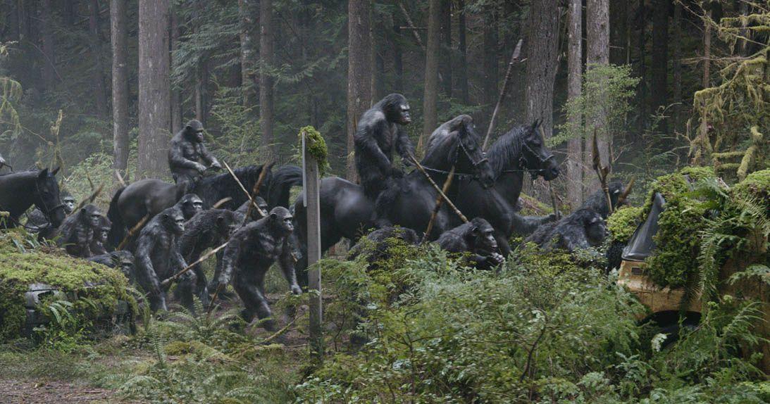 La planète des singes : l'affrontement (BANDE ANNONCE VF et VOST) avec Andy Serkis, Gary Oldman (Dawn of the Planet of the Apes)