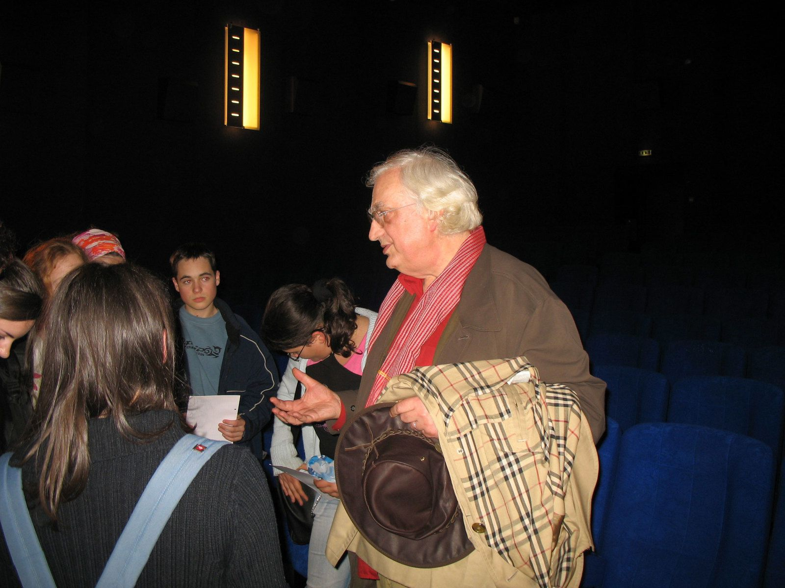 BERTRAND TAVERNIER A DINAN (2006) (PHOTOS)