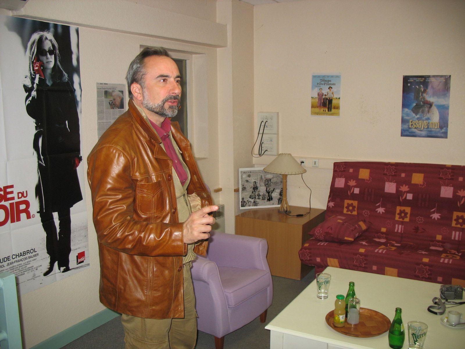 """ANTOINE DULERY AU CINEMA """"VERS LE LARGE"""" A DINAN POUR LE FILM """"CAMPING"""" (PHOTOS)"""