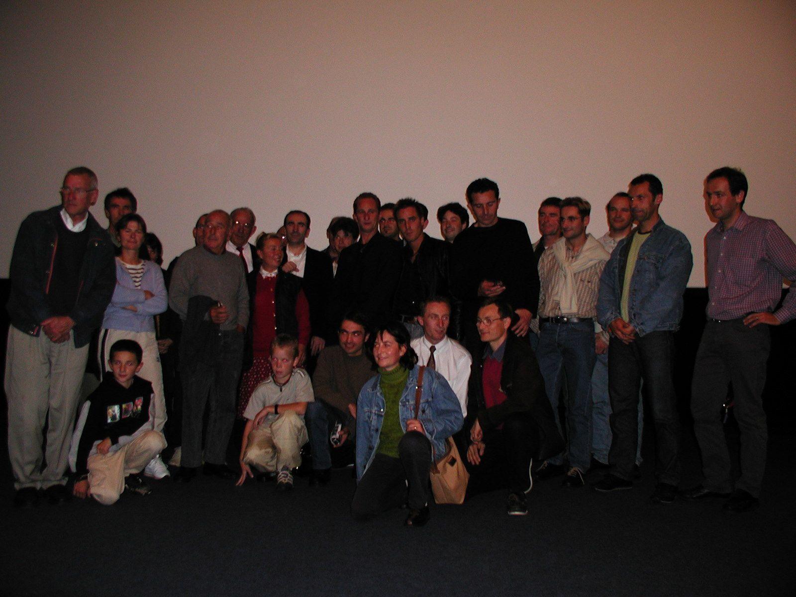 Benoit POELVOORDE et Philippe HAREL pour le film LE VELO DE GHISLAIN LAMBERT à DINAN (PHOTOS)
