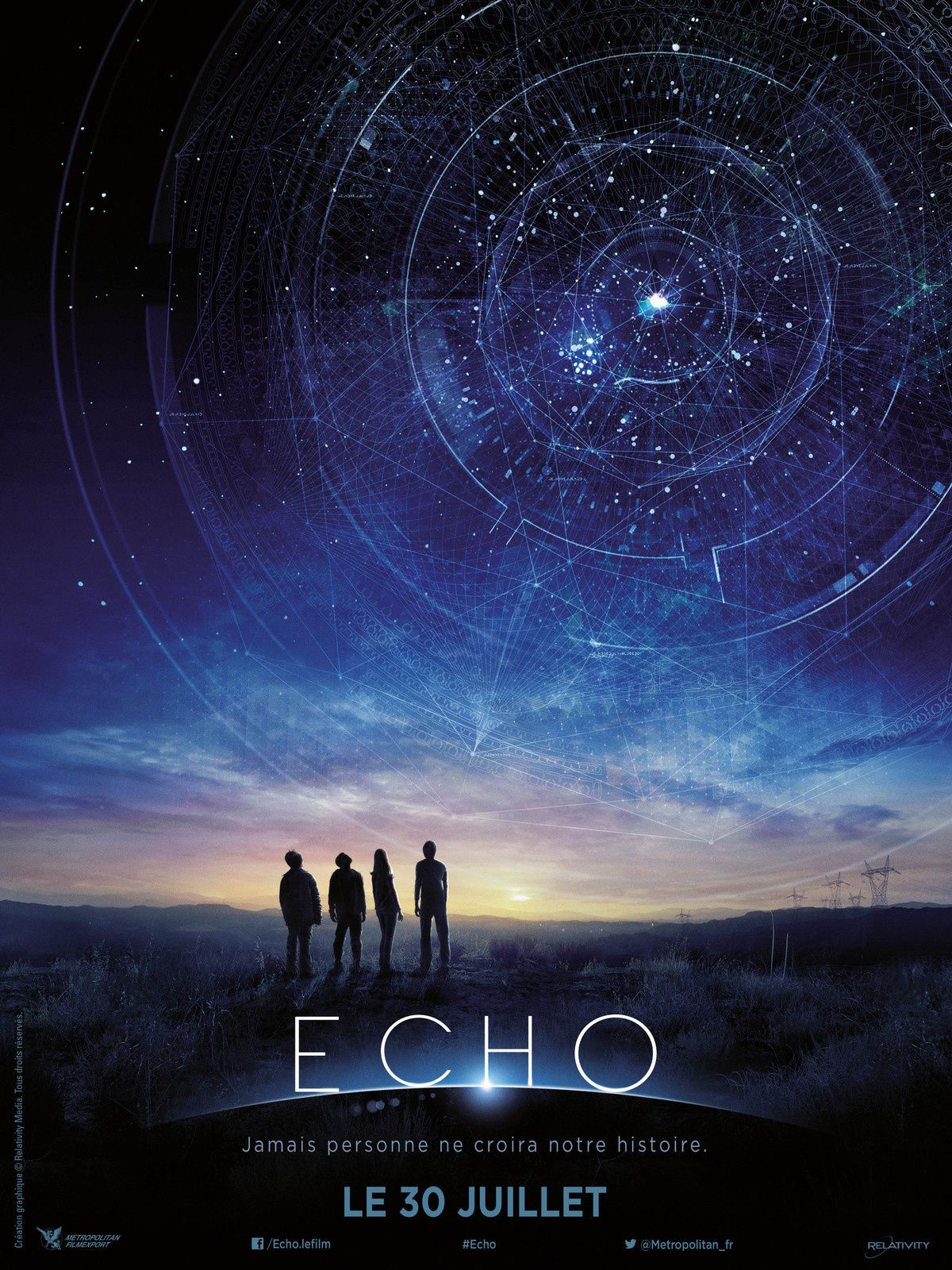 ECHO (BANDE ANNONCE VOST) avec Teo Halm, Brian Bradley, Reese Hartwig - 30 07 2014 (Earth To Echo)