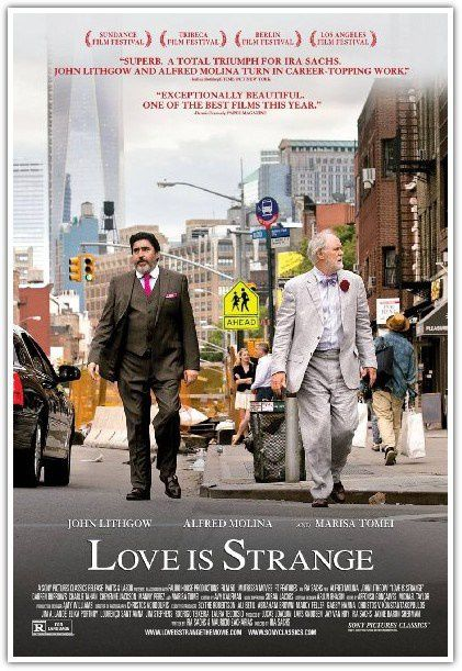 LOVE IS STRANGE (BANDE ANNONCE VOST) avec Marisa Tomei, Alfred Molina, John Lithgow - 12 11 2014