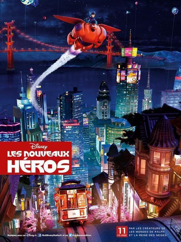Les nouveaux héros (BANDE ANNONCE 1 et 2 VF) 11 02 2015 (Big Hero 6)