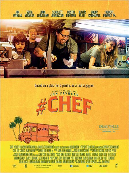 # Chef (3 EXTRAITS VOST) avec Robert Downey Jr., Scarlett Johansson - 29 10 2014