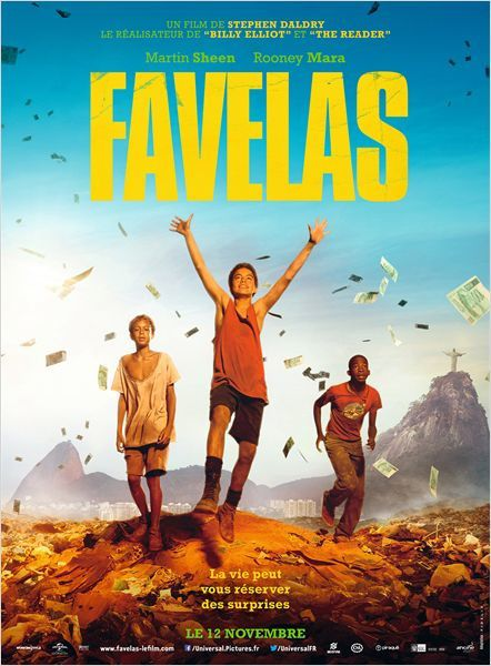 Favelas (BANDE ANNONCE VF et VOST) avec Rooney Mara, Martin Sheen, Wagner Moura - 12 11 2014 (Trash)