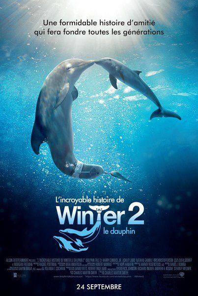 L'Incroyable histoire de Winter le dauphin 2 (BANDE ANNONCE VF et VOST) avec Morgan Freeman, Ashley Judd (Dolphin Tale 2)