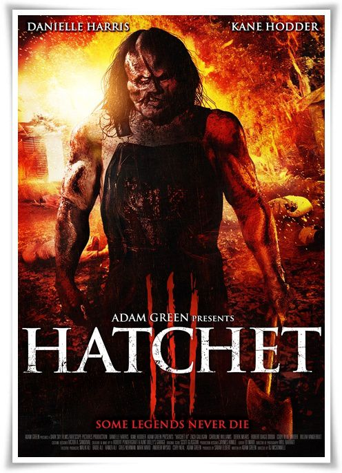 Butcher 3 (Hatchet III) (2013) (BANDE ANNONCE) avec Danielle Harris, Kane Hodder, Zach Galligan, Caroline Williams