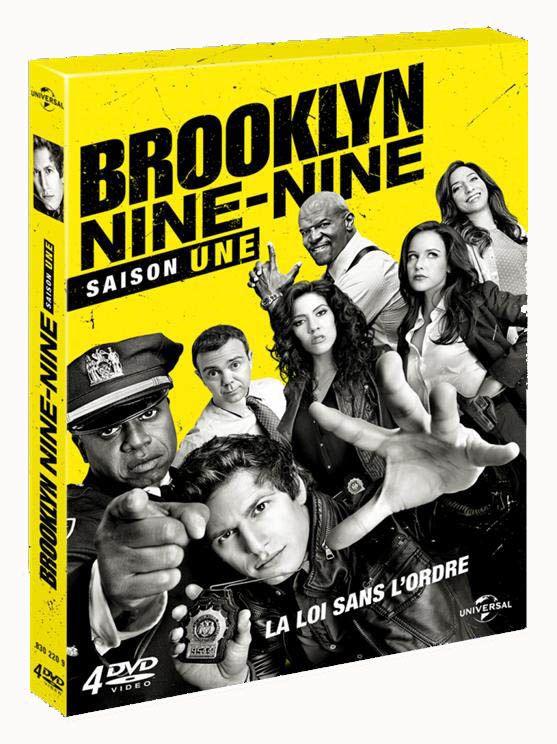 BROOKLYN NINE-NINE : La série évènement débarque le 4 novembre 2014 en DVD !