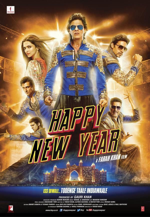 Happy New Year (BANDE ANNONCE VOST) de Farah Khan - 24 10 2014