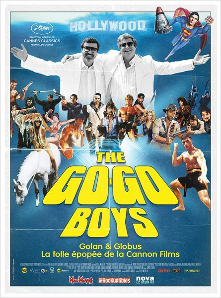 The Go-Go Boys (BANDE ANNONCE VOST 2014) avec Sylvester Stallone, Chuck Norris, Charles Bronson (The Go-Go Boys : The Inside Story of Cannon Films)